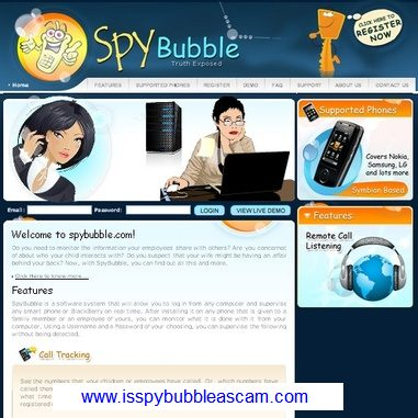 Spybubble web site.